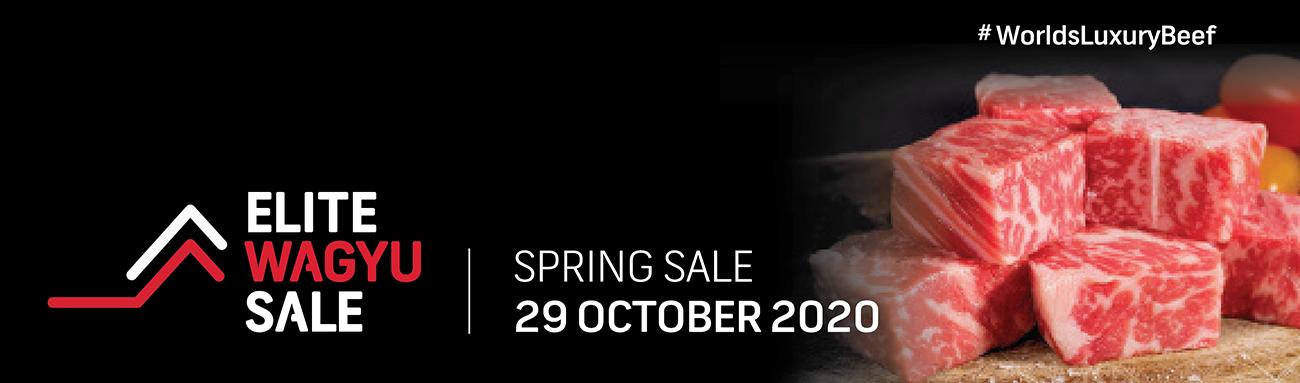 Spring Elite Wagyu Sale 2020