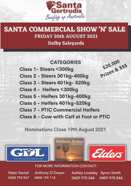 Santa Commercial Show 'N' Sale